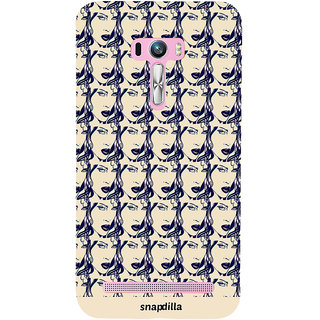 Snapdilla Modern Art Stylish Looking Awesome Pattern Colorful Floral Mobile Case For Asus Zenfone Selfie ZD551KL