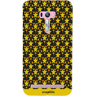 Snapdilla Cool Looking Beautiful Trending Star Pattern Simple Modern Mobile Cover For Asus Zenfone Selfie ZD551KL