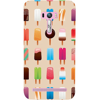 Snapdilla Different Colorful Light Background Ice-Cream Lovers Back Cover For Asus Zenfone Selfie ZD551KL