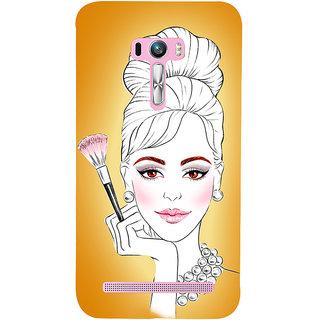 Snapdilla Ultra Modern Trendy Fancy Girl Model Vogue Mobile Cover For Asus Zenfone Selfie ZD551KL