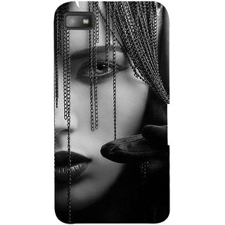 Snapdilla Impressive Cat Eyes Girl Beauty Sexy Hot 3D Print Cover For BlackBerry Z10