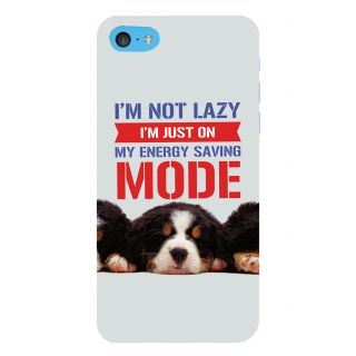 Snapdilla Light Background Funny Mode Humurous Comic I Am Not Lazy Quote Back Cover For Apple IPod Touch 6