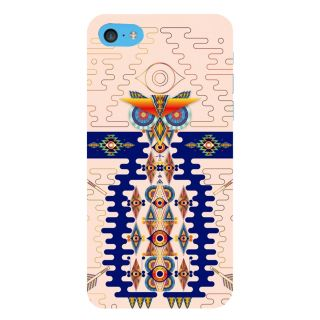 Snapdilla Awesome Different Pattern Light Background Classic Owl 3D Print Cover For Apple IPod Touch 6