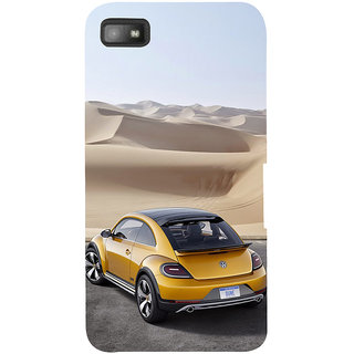 Snapdilla Lovely Amazing Colourful Beautiful Stylish Car In Desert Smartphone Case For BlackBerry Z10