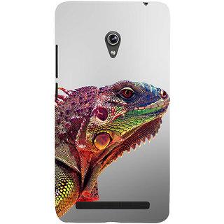 Snapdilla Unique Colorful Extraordinary Lizard Wild Life Photography Phone Case For Asus Zenfone 5