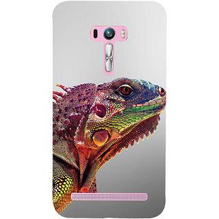 Snapdilla Unique Colorful Extraordinary Lizard Wild Life Photography Phone Case For Asus Zenfone Selfie ZD551KL