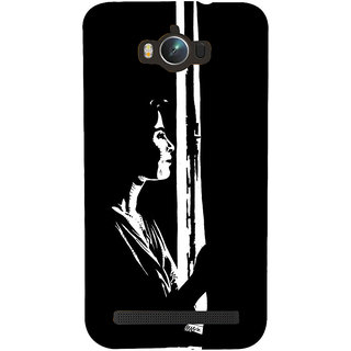 Snapdilla Black And White Modern Art Classic Abstract Painting Simple Mobile Cover For Asus Zenfone Max