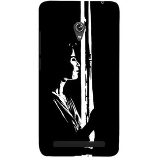 Snapdilla Black And White Modern Art Classic Abstract Painting Simple Mobile Cover For Asus Zenfone 5