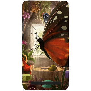 Snapdilla Animated Cool Clipart Best Butterfly Painting Cool Classic Back Cover For Asus Zenfone 5
