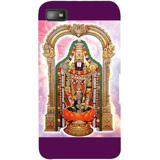 Snapdilla Devotional Lord Tirupathi Venkateswara Balaji Perumal Govinda 3D Print Cover For BlackBerry Z10