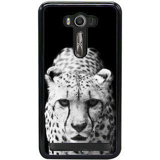 Fuson Designer Back Cover For Asus Zenfone 2 Laser ZE550KL (5.5 Inches) (Cheetah Fierce Cheetah Hunting Cheetah Wild Cheetah Stalking Cheetah)