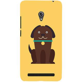 Snapdilla Artistic Modern Art Cute Puppy Cool Crazy Cartoon Designer Case For Asus Zenfone 5