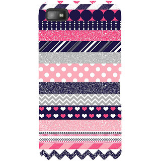 Snapdilla Multi Pattern Simple Colorful Different Smartphone Case For BlackBerry Z10