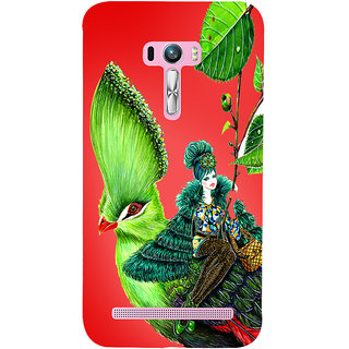 Snapdilla Trendy Classic Fashion Cartoon Girl Painting Mobile Case For Asus Zenfone Selfie ZD551KL