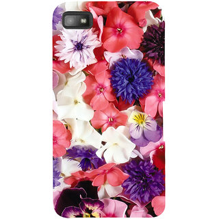 Snapdilla Artistic Lovely Floral Background Colorful Flowers Wifes Gift Smartphone Case For BlackBerry Z10