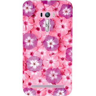 Snapdilla Modern Art Floral Pink Floral Background Pretty Flowers Mobile Pouch For Asus Zenfone Selfie ZD551KL