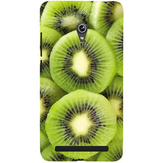 Snapdilla Unique Awesome Soft Texture Kiwi Fruit Green Color Designer Case For Asus Zenfone 5