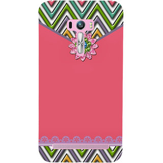 Snapdilla Awesome Pink Pouch Envelope Lovely Pattern Phone Case For Asus Zenfone Selfie ZD551KL