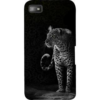 Snapdilla Black Background Wild Cheetah Leopard Smartphone Case For BlackBerry Z10
