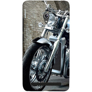 Snapdilla Red Background Vintage Luxury Motobike Ride Manly Smartphone Case For Asus Zenfone 5