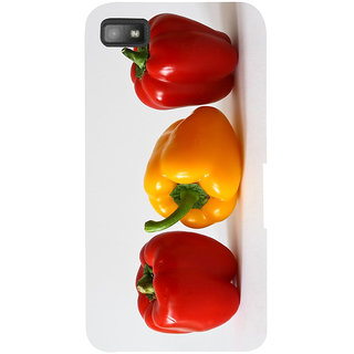 Snapdilla Kitchen Chef Capsicum Red Bell Pepper Colorful Unique Mobile Cover For BlackBerry Z10
