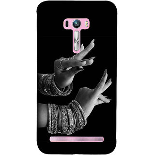 Snapdilla Indian Culture Traditional Kathak Dance Mudra Of Katakamukha Magical Mobile Case For Asus Zenfone Selfie ZD551KL