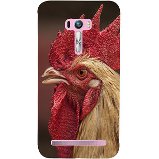 Snapdilla Dark Background Unique Fighting Chicken Cock Godavari Pandem Kodi Mobile Case For Asus Zenfone Selfie ZD551KL