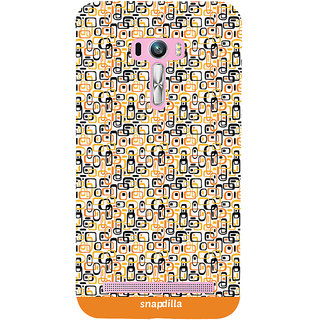 Snapdilla Trendy Artistic Cubes Pattern Stylish Looking Colorful Latest Designer Case For Asus Zenfone Selfie ZD551KL