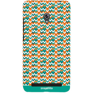 Snapdilla Lovely Looking Artistic Stripes Pattern Trendy Cool Back Cover For Asus Zenfone 5