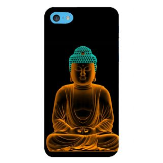 Snapdilla Good Looking Golden Gautam Buddha Meditation Painting Peaceful Pleasant Cell Cover For Apple IPod Touch 6
