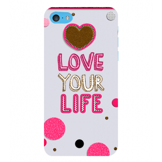 Snapdilla Pink Color Best Love Your Life Quote Awesome Unique Phone Case For Apple IPod Touch 6