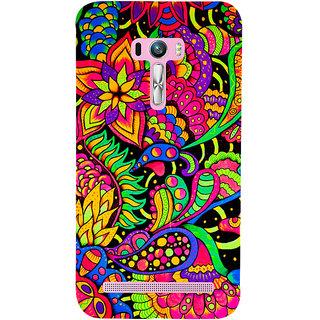 Snapdilla Artistic Rangoli Pattern Stylish Multi Color Beautiful Cell Cover For Asus Zenfone Selfie ZD551KL