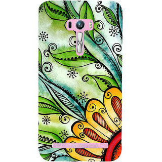 Snapdilla Awesome Looking Stylish Multi Color Artistic Smartphone Case For Asus Zenfone Selfie ZD551KL