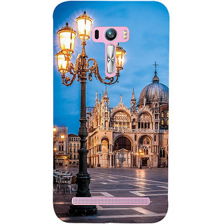 Snapdilla Wonderful Artistic Vintage Building Impressive Lively Architecture Mobile Case For Asus Zenfone Selfie ZD551KL