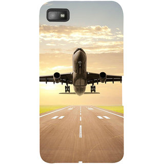 Snapdilla Stunning Runway Airplane Takeoff Sunset Lovers Mobile Case For BlackBerry Z10