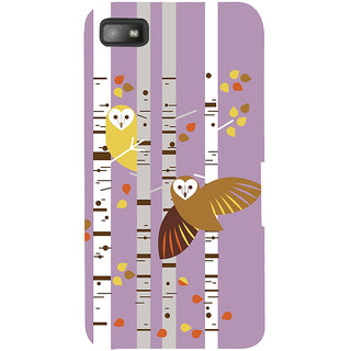 Snapdilla Classic Girly Cool Loving Owls College Girl Mobile Pouch For BlackBerry Z10