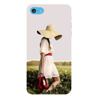 Snapdilla Cute Vogue Girl Red Heels Trendy Fashion Nature Walk 3D Print Cover For Apple IPod Touch 6