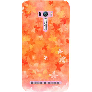 Snapdilla Artistic Clipart Bright Background Autumn Leaves Awesome Designer Case For Asus Zenfone Selfie ZD551KL