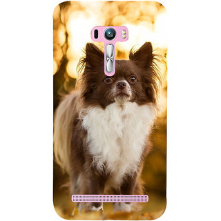 Snapdilla Cute Beautiful Puppy Dog Lovers Pet Lovers Unique Smartphone Case For Asus Zenfone Selfie ZD551KL