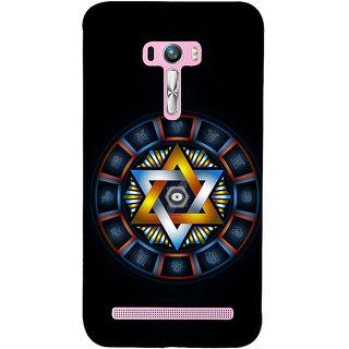 Snapdilla Black Background Star Symbol Horoscope Zodiac Signs Culture Mobile Pouch For Asus Zenfone Selfie ZD551KL