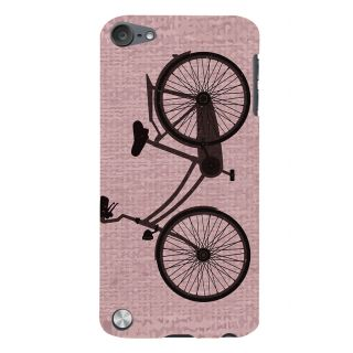 Snapdilla Unique Pattern Lady Bird Bicycle Riding Wheel Branded Mobile Case For Apple IPod Touch 5