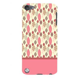 Snapdilla Perfect Stylish Dry Leaves Pattern Pink Color Lovely Smartphone Case For Apple IPod Touch 5