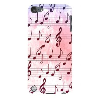 Snapdilla Western  Traditional Musical Chords Note Light Backgroud Phone Case For Apple IPod Touch 5