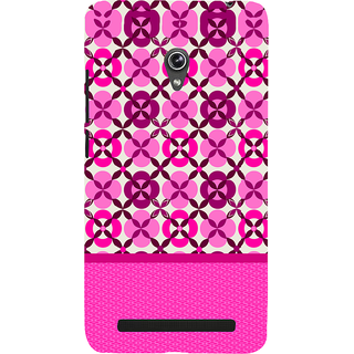 Snapdilla Artistic Different Pink Color Floral Pattern Pretty Cute Cell Cover For Asus Zenfone 5