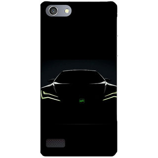 Unique Print Back Cover For Oppo Neo7