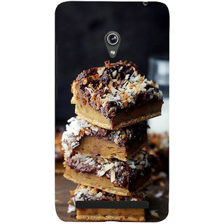 Snapdilla Chocolate Cake Desert Lovers Unique Cool Mobile Pouch For Asus Zenfone 5