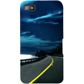 Snapdilla Heavenly Blue Sky Beach Side Ride Scenic Beautiful Phone Case For BlackBerry Z10