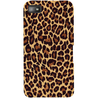 Snapdilla Cheetah Leopard Leather Tiger Skin Background Different Phone Case For BlackBerry Z10