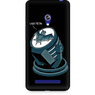 CopyCatz Bat Signal Bat Premium Printed Case For Asus Zenfone Go