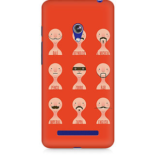 CopyCatz Types Of Beard Premium Printed Case For Asus Zenfone 5
